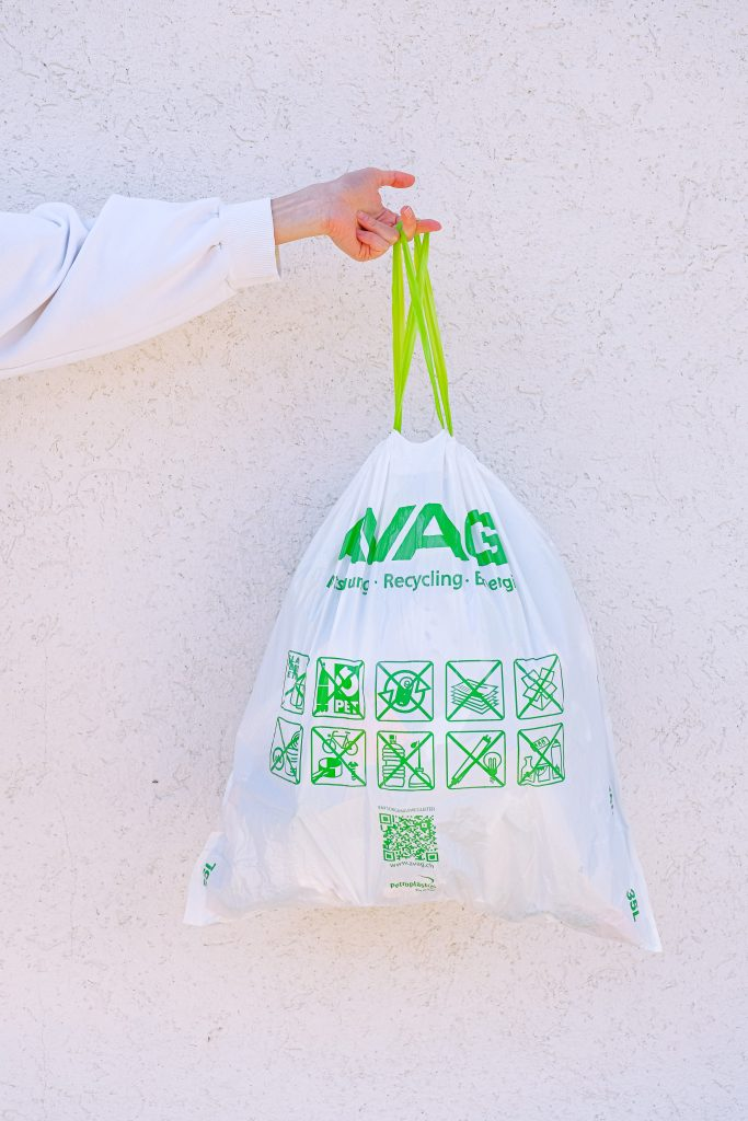 Green living with reusable bags