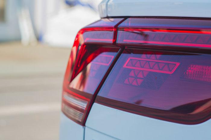 back light of audi car