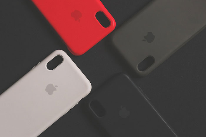 apple phone different color covers