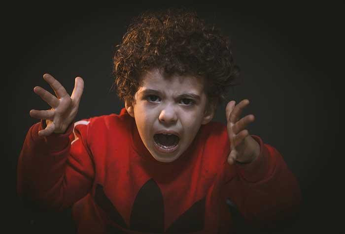 agress child