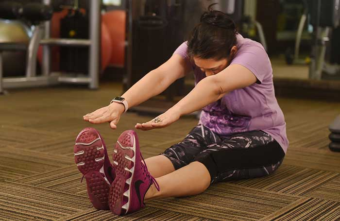 Stretching Work out for weight loss
