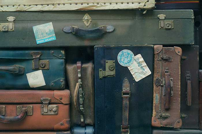 Suitcase recycling