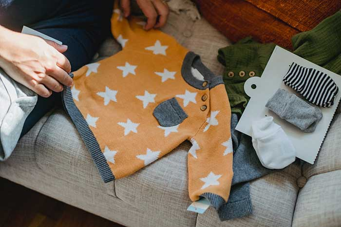 Baby clothes for Parent's child