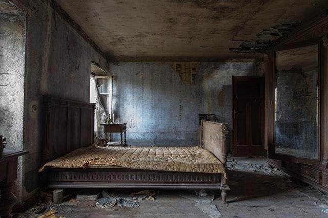 Old home mattress