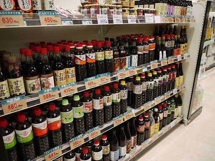 Sauce in market
