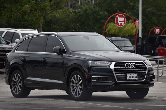 Black Audi Family Car