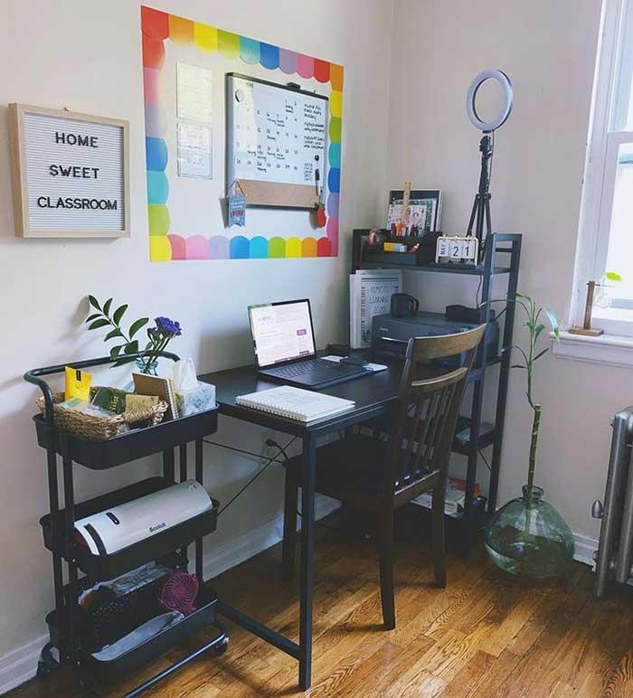 A Unique Home Classroom Setup