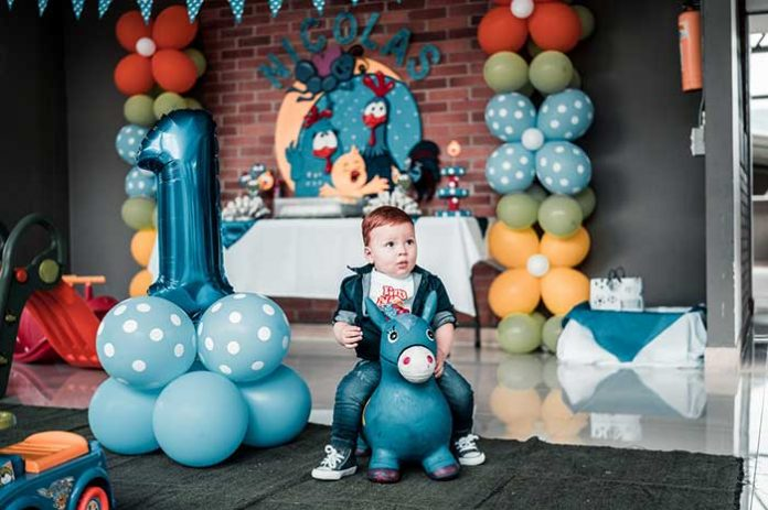 Birthday party for your toddler